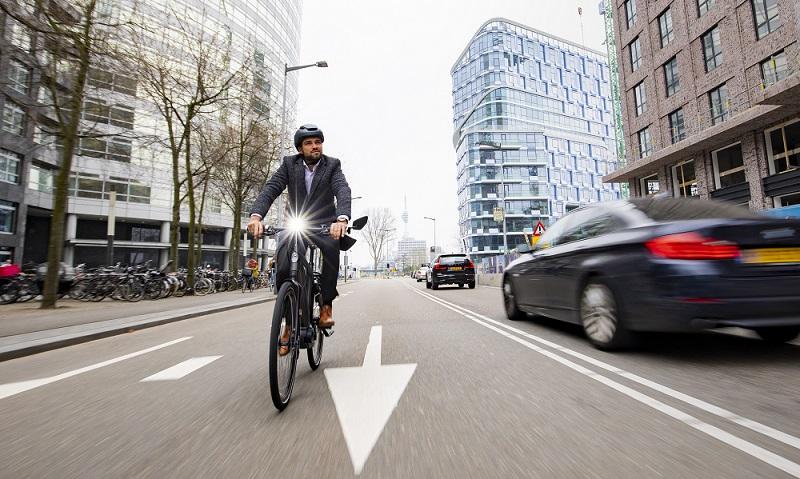 Правила передвижения велосипедистов по городу